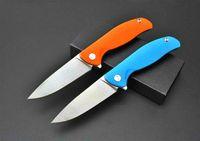 Shirogorov D2 лезвие плавник нож G10 ручка 58-60HRC складной охотничий выживания кемпинг карманный нож Рождество Gife ножи 1шт a763