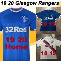 19 20 Glasgow Rangers 8 GERRARD Home Bule Away White Soccer ...
