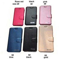 Universal Cell Phone Housse en cuir avec des fentes pour carte Oukitel K7 / K8 / OK6000 Plus / WP5000 / U19 / C9 / U18 Wallet TPU Phone Cases
