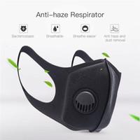 남여 스폰지 방진 마스크 PM2.5 오염 절반 얼굴 입 밸브 세척 재사용 머플 호흡 호흡 마스크