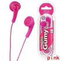 New Gumy HA F150 Earphones Gummy Earphone Cell Phone Earphon...
