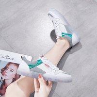 WOMEN 'S 신발 2019 새로운 스타일 포시즌 한국 스타일의 컬러 젤 신발 지혜 훈제 네트워크 레드 INS 패션 스니커즈 적이있는