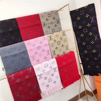 Classic men women scarves high-grade cashmere scarf soft cord cashmere yarn-dyed pattern scarf