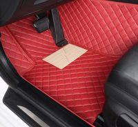 изготовленные на заказ коврики напольные для Хундай Санта Фе Getz TUCSON ix25 ix35 Creta Elantra Кона i30 кожа все модели автомобилей коврики аксессуары