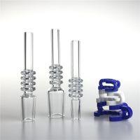 10mm 14mm 18mm Kuvars İpuçları Damla Tester Saman Tüp İpucu Nargile Mini Nektar Kollektör Kitleri Erkek Kadın Sigara Tırnak