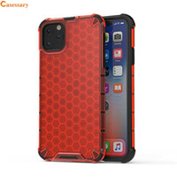 Hybrid Slim Shockproof Honeycomb Pattern Design Cases for iP...