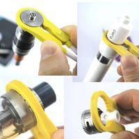 Mais novo Multifuncional VAPER Twizer Twizer Envolvendo Fio de Ajuste Fio Ferramenta Isolada Tweezer Cerâmica para DIY RDA Vape Vape Navio Livre