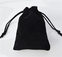 Confezione regalo del sacchetto dei gioielli di velluto Adatta per la collana del braccialetto del braccialetto della collana Borsa del panno dell'orecchino 7 * 9 cm