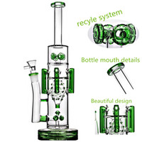 15 Inch Thick Glass Water Bong Heady Oil Rigs Water Pipes Re...