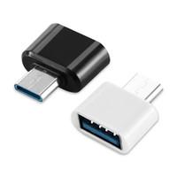 유형 C OTG 어댑터 변환기 Micro to Samsung Android 휴대 전화 키보드 PC 카메라 용 USB 어댑터