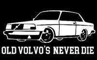20 * 9.5 cm Volvo Saplı Eski Volvo Araba Çıkartması Sticker Sol Sağ Dış Vinil Araba Çıkartmaları CA-1063
