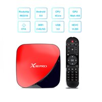 X88 Pro Android 9.0 TV Box RK3318 Quad Core 4GB 64GB Max 2.4G / 5G Dual WiFi USB3.0 4K HDR H.265 Media Player