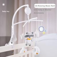 Yenidoğanlar Y200111 için bebek karyolası Bebek Bebek Oyuncakları 0-12 Ay için Bell Carousel Yatak Çizgi Yatağı Cep çıngırak Müzik Eğitici Oyuncaklar