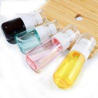 30ML 60ML flacone spray a forma di U atomizzatore Spray Bottiglie con spessore parete e spessa Cosmetics fondo di profumo trasparente GGA3469-2 Bottiglia
