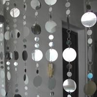 PVC pul Perdeleri Ev eşyaları bölümleri Plastik perde Ev gereçleri Şenlikli düğün dekorasyon PVC Perde Ev Dekor