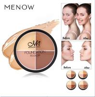 HOT crème en gros de base C14002 maquillage moelleux 4color fond de teint crème maquillage cosmétiques couleur anti-cernes. En stock!