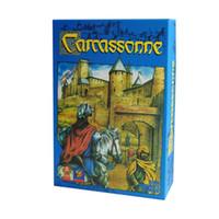 Carcassonne Board Game 2-5 Jogadores cartão de jogo para festa de família Amigos Jogos de Estratégia Tile Jogo Placement