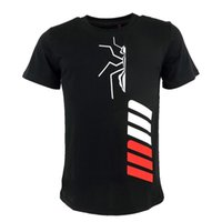 Summer T Black The Ant Cartoon Moto GP Motocicletta sportiva da uomo in cotone Motocross