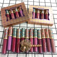 Sıcak satış Mat Likit Ruj dudak parlatıcısı 1 adet lot Yapışmaz Kupa su geçirmez Dudak karışık renk 12 renk perdelenir
