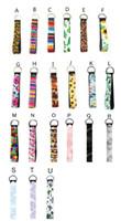 팔찌 LJJP13와 네오프렌 팔찌 열쇠 고리 꽃 인쇄 된 열쇠 고리 손 손목 매는 밧줄 열쇠 고리 홀더 키 체인