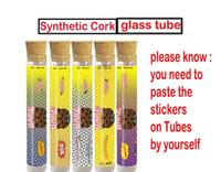 Barewoods Prerolls envasado Tubo Cork tubos lisos de plástico OG / tubos de cristal de pre-roll pre-roll Dankwoods Barefarms Limited