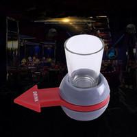 Fun Spinner Spin The Shot Roulette verre à boire de l'alcool Jeu Party KTV