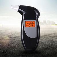 Dijital alcotest alkol ölçer LCD Dedektör Arka Işık Işık alcoholimetro keton keto metre alkomat El Alkol test