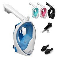 Scuba Full Face Snorkel Mask Diving Mask Underwater Anti Fog...