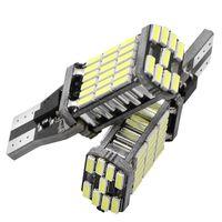 10Pcs T15 W16W Lampadine a LED a luce retromarcia 920 921 912 Canbus 4014 45SMD Evidenziatore LED a LED per il parcheggio di emergenza Lampadine a incandescenza DC12V