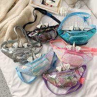 6 стилей ins in unicorn unicorn black baby girl messenger crossbody сумка кошелек мультфильм милые дети сумка сумка сумка спортивная модная сумка