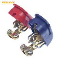 FEELDO 2pcs / Set Car Quick Release Terminales de batería Abrazaderas de conector Levante Positivo Negativo para barco Motocicleta # 6119