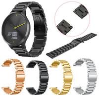 Remplacement Montre en acier inoxydable bande Bracelet Bracelet Pour Garmin vivomove HR