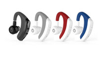K5 Einzel Headset Bluetooth Headset Bluetooth-Kopfhörer-freihändige Kopfhörer Mini Wireless Kopfhörer Ohrhörer Hörmuschel DHL