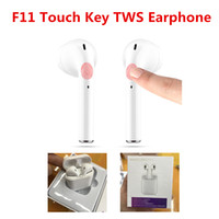 F11 Smart Mini TWS Binaural Touch Key Earbuds Bluetooth Wire...