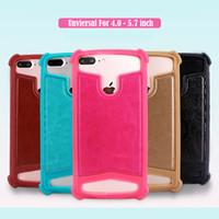 Evrensel TPU Silikon Cep Telefonu Kılıf Arka Kapak için 4,0 4,5 5,0 5,5 5,7 inçlik iPhone 11 Pro Max Samsung Note 10 Huawei P30 Mate 30