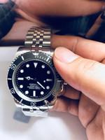 Super Factory Producti 2813 Движение 40 мм керамический BEZEL 116610 Sapphire высококачественные механические автоматические мужские часы