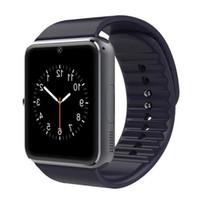 Bluetooth الذكية ووتش GT08 دعم SIM TF بطاقة كاميرا ساعة اليد الهاتف مكالمة هاتفية لالروبوت IOS متعدد اللغات