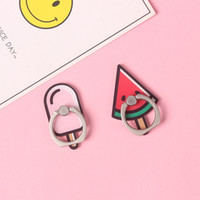 Ring Buckle Halter Halter Finger Mounts Karikatur-nette Handy-Ring Halter allgemeinhin für Apple iPhone 7 8 Plus xs max