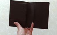 Novas Mulheres de couro Designer de passaporte capa titular do cartão de crédito dos homens de negócios titular passaporte de viagem carteira de passaportes carteira