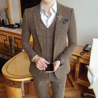 Men' s suit for smart causal costume mariage homme suits...