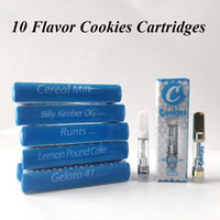 Cookies Carts Vape Cartridges Packaging 0. 8ml 1ml Ceramic Co...