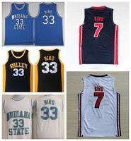 sale retailer 80b65 5724e Wholesale Larry Bird Indiana State Jersey - Buy Cheap Larry ...