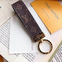 2019 High qualtiy leather Keychain Key Chain & Key Ring Hold...