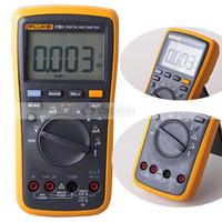 Fluke 17B + Gamme Auto Sonde multimètre numérique compteur température Fréquence DE expédition