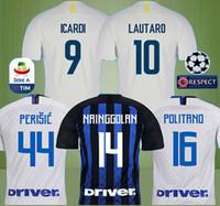 18 19 Italy soccer jersey LAUTARO ICARDI PERISIC NAINGGOLAN football shirt  home 2018 2019 POLITANO AMBROSIO Maglia da calcio maillot de foot b12d3937d