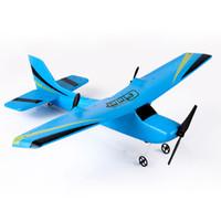 RC Drone 2.4G RC Planör Uçan Helikopter Çocuklar Için Noel Hediyesi Uzaktan Kumanda Uçak C6641