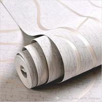 Dokumasız 3D Duvar Kağıtları Rulo Modern Basit Stil Yüzey Çizgili Bej Duvar Kağıdı Masaüstü Duvar Kağıdı