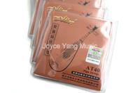 10 Setler Alice AT40 Pipa Strings Kaplama Çelik Bakır Alaşım WireNylon Çekirdek Strings 1-4 Strings Ücretsiz Kargo