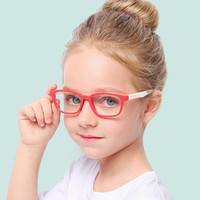 2019 الضوء الأزرق نظارات أطفال نظارات الأطفال الضوء الأزرق حجب نظارات بنات بنين شفاف إطار الكمبيوتر uv400