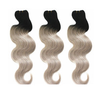 Ombre Human Hair Bundles Body Wave Brazilian Virgin Hair Wea...